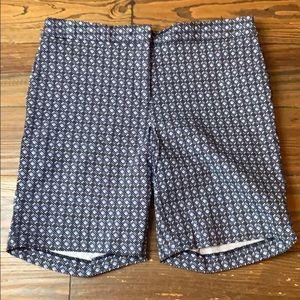 Mario Serrano blue Bermuda shorts 8